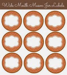 Mason Jar Labels Printable Free