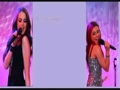 elizabeth gillies complicated lyrics give it up ariana grande and elizabeth gillies with