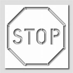 Stop, Sign, Stencil