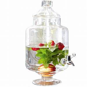 Getränkespender Glas Mit Zapfhahn : getr nkespender cassis loberon coming home ~ Markanthonyermac.com Haus und Dekorationen