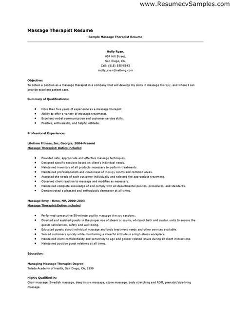 therapist resume sle jennywashere