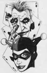 Joker and Harley Quinn Drawings