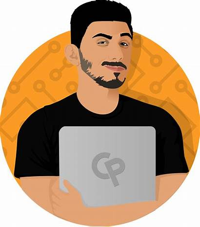 Computer Clipart Clever Programmer Learn Programming Qazi