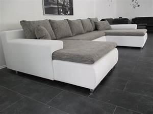 Couch L Form Grau : wohnlandschaft 378cm weiss grau herzlich willkommen auf unserer homepage ~ Indierocktalk.com Haus und Dekorationen