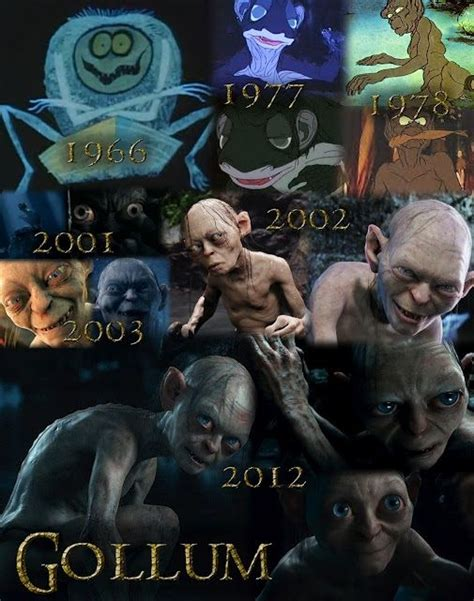 evolution  gollum awesome geekiness lord