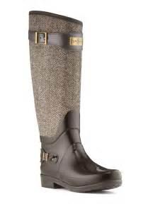 Tweed Hunter Rain Boots
