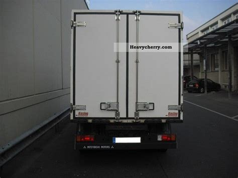 Mitsubishi Canter 2004 Refrigerator Body Truck Photo And Specs