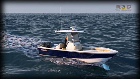 Everglades Sport Fishing Boats by Everglades 273 Sport Fishing Boat 3d Model Cgtrader