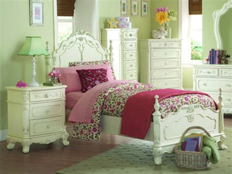 Girls' Bedroom Furniture, White And Wonderful