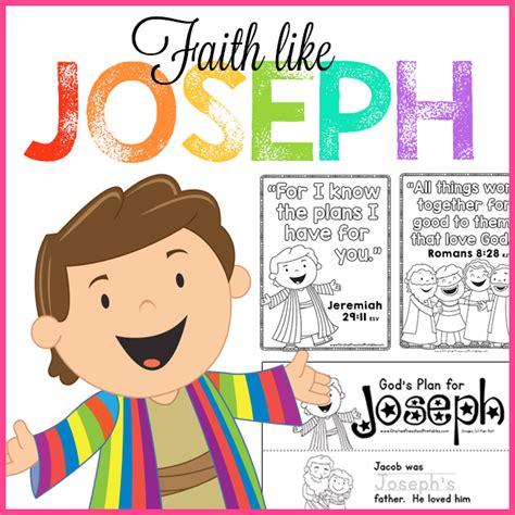 faith like joseph free printable preschool bible lessons 439 | JosephBiblePreschool