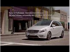 lustige Mercedes Werbung BKlasse neu Kind mit Eis