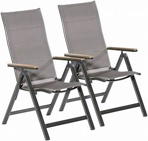 Gartenstühle Alu Klappbar : merxx gartenstuhl trivero 2er set alu textil klappbar online kaufen otto ~ Eleganceandgraceweddings.com Haus und Dekorationen