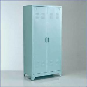 Armoire Métallique Vestiaire : cool armoire vestiaire metal new etonnant armoire ~ Melissatoandfro.com Idées de Décoration
