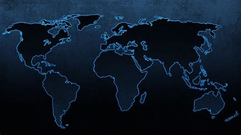 Blue continents maps world map wallpaper   (45072)