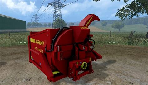 straw blower agram jet paille   ls farming