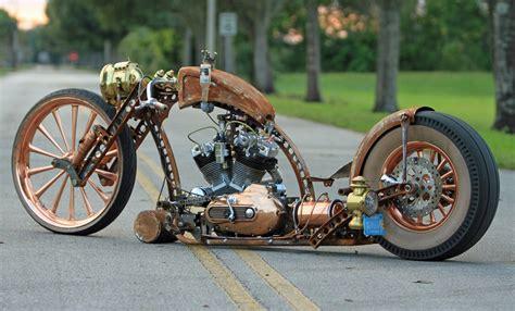 Unique Rat Rod Motorcycle