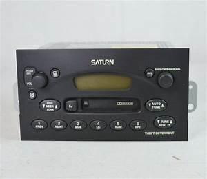 New Saturn Ls S Series Stereo Receiver Cassette Player Radio