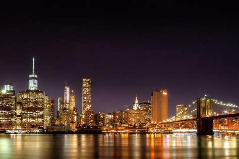 new york city lights at photograph by az jackson