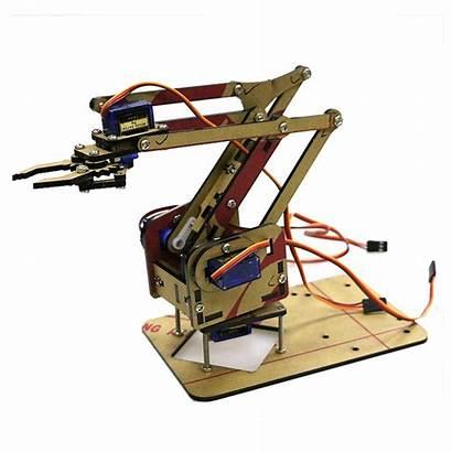 Arm Robot Arduino Dof Kit Sg90 Diy