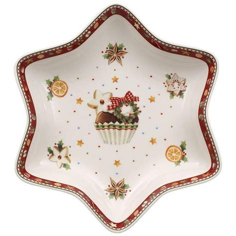 Villeroy & Boch Sternschale Mittel Cupcake 27cm »winter