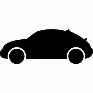 Hatchback car variant side view silhouette Icons | Free ...
