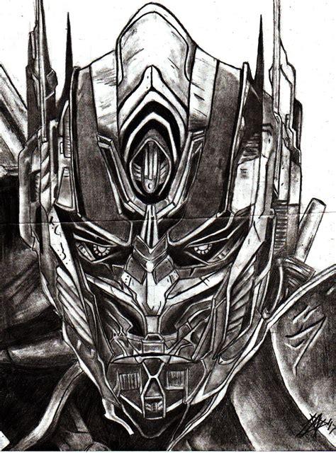 realistic optimus prime drawing  oxglitterbunniexo