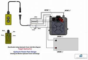 12 Volt Hydraulic Wiring Diagram