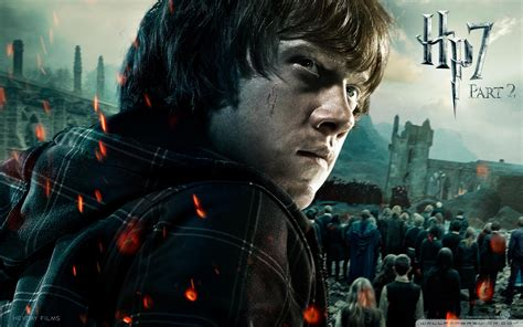 Harry Potter And The Deathly Hallows Part 2 Ron 4k Hd