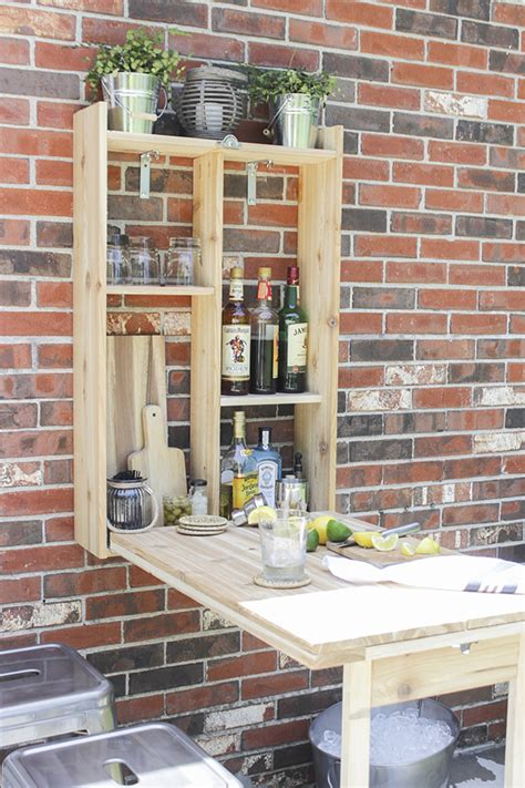 murphy kitchen table plans how to build an outdoor murphy bar