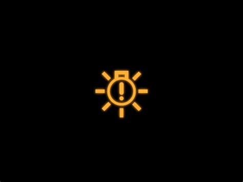 The basic rules for warning lights are the same as for traffic lights: Bulb Monitoring Warning Light | Yellow | Volkswagen UK