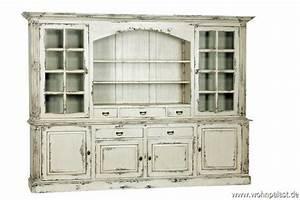 Shabby Chic Möbel : teakholz vitrinenschrank shabby chic vintagem bel wohnpalast m bel ~ Orissabook.com Haus und Dekorationen