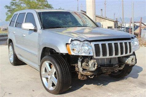 totaled jeep grand cherokee sell used 2007 jeep grand cherokee 4wd srt 8 hemi