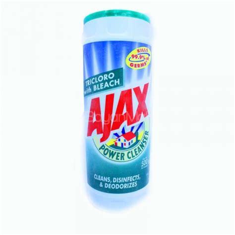 Ajax Powder Cleanser   Tricloro with Bleach 500g