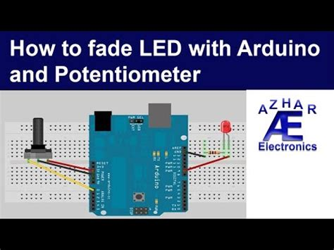 Using Potentiometer With Arduino Led Chaser Doovi