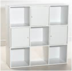 high white wooden storage cabinet with doors also