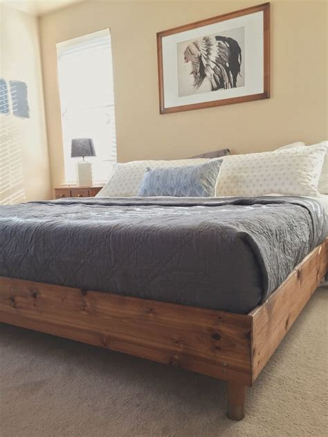 King Size Bed Frame And Headboard by The 25 Best King Size Bed Frame Ideas On Diy