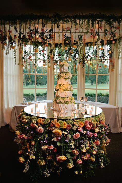 memphis wedding    hanging flowers art