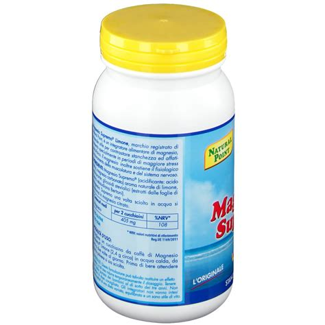 Magnesio Supremo In Farmacia by Magnesio Supremo 174 Lemon Shop Farmacia It