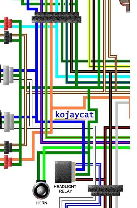 honda cbr250rr k mc19 1989 uk spec colour wiring loom diagram