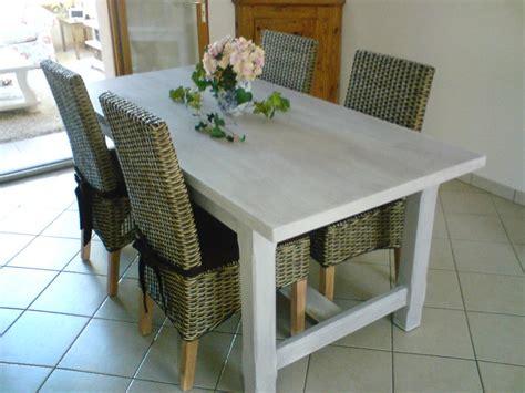 fabriquer sa table de cuisine fabriquer sa table de salle a manger maison design