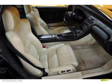 Tan Interior 1992 Acura Nsx Coupe Photo #50893276