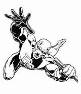 Coloring Pages Marvel Heroes Superheroes Super Clipartmag sketch template