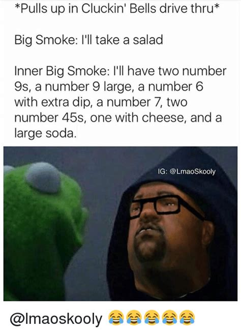 Big Smoke Memes - funny ill have two number 9s a number 9 large memes of 2017 on sizzle