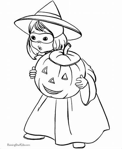Halloween Coloring Printable Pages Templates Template Kid