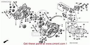 Honda Cr125r 1996 Australia Crankcase