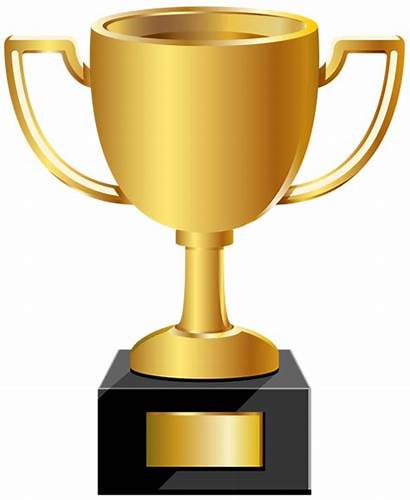 Clip Cup Golden Clipart Trophy Transparent Yopriceville