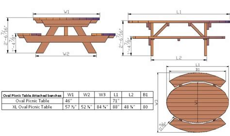 wood project composite picnic table plans