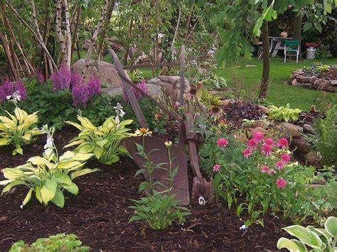hostas in rock gardens landscape ideas