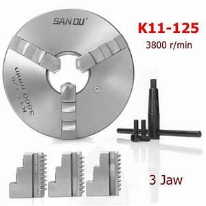 Sanou 125mm Lathe Chuck K11