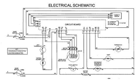 Electrical Diagram For Kenmore Refrigerator Circuit Diagrams